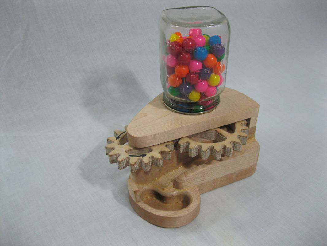 wood gumball machine plans